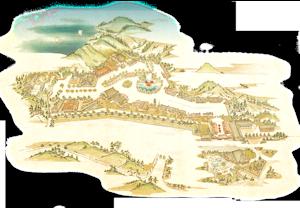 伊達時代村全図