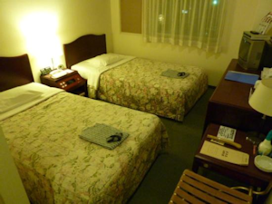 Gホテルの部屋