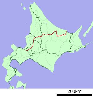 オホーツク運行路線
