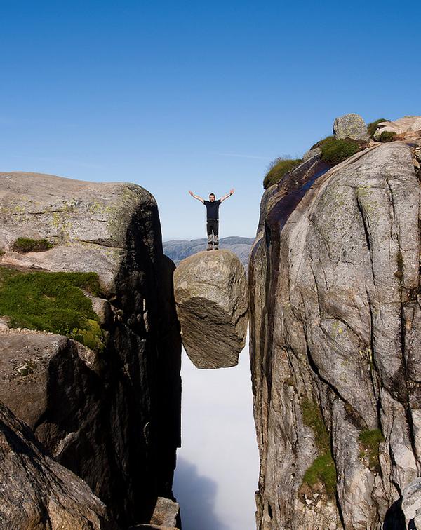 シェラーグボルテンの奇跡の岩