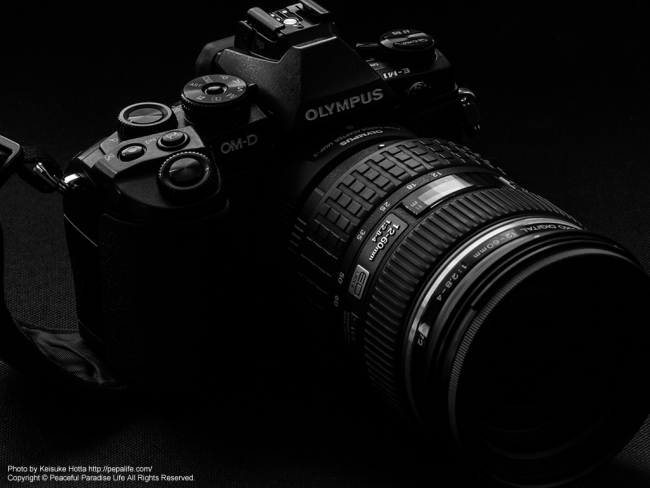 OM-D E-M1にZUIKO DIGITAL ED 12-60mm F2.8-4.0 SWDを装着