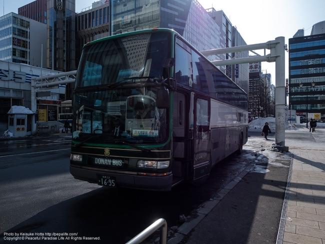 郊外路線バス(道南バス)