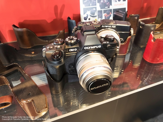 CP+2014 OM-D E-M1 + GARIZ(ゲリズ)本革カメラケース