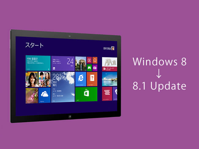 Windows8→8.1 Update