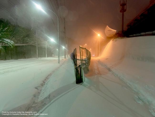 2014・2・15の大雪 by 横浜市
