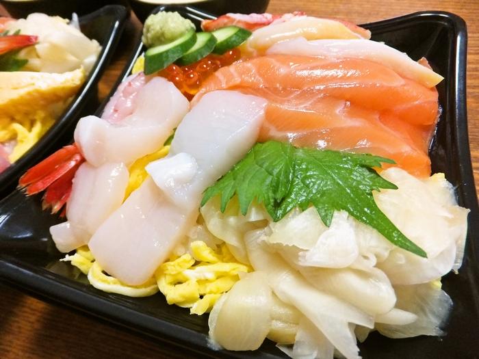 銀のさらの北海丼