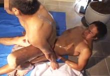 ゲイ動画:激男前体育会プリプリボイーンでガチFUCK !!