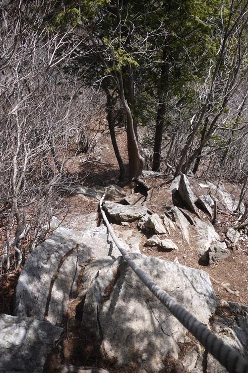 釈迦ヶ岳・黒岳に登ってきました (その2)