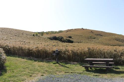 仁科峠・岩の上から景色を楽しむ!
