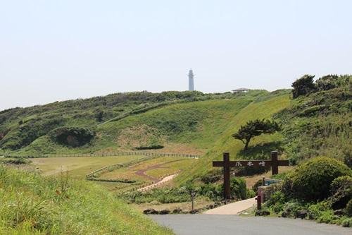 爪木崎灯台散策