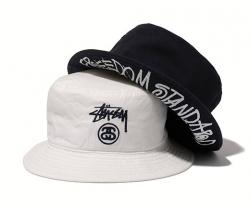 STUSSY × BEAUTY&YOUTH Freedom Standard Bucket Hat