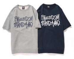 STUSSY × BEAUTY&YOUTH Freedom Standard SSL Crew
