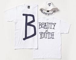 STUSSY × BEAUTY&YOUTH NAVY