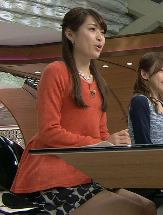 佐藤渚 ミニスカのデルタゾーン&太ももキャプ画像(エロ・アイコラ画像)