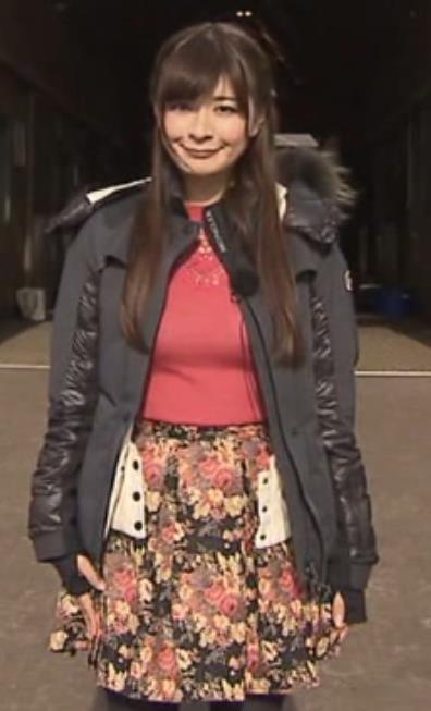 八田亜矢子 巨乳キャプ画像(エロ・アイコラ画像)