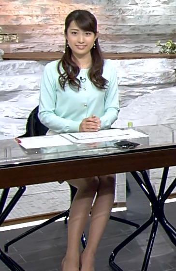 佐藤渚 美脚キャプ画像(エロ・アイコラ画像)