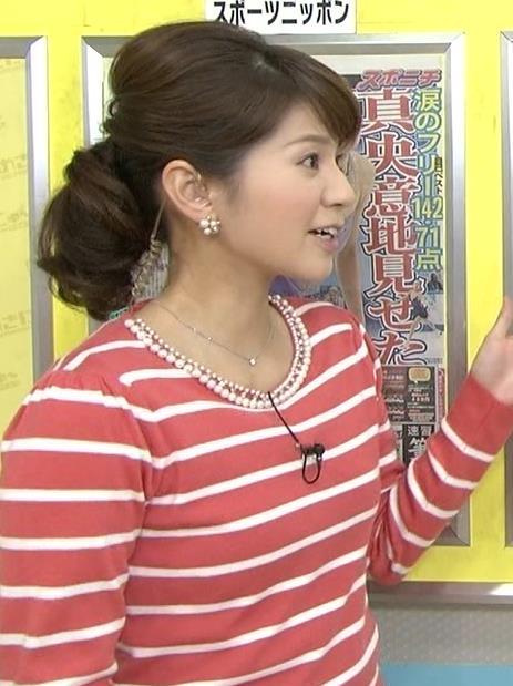 遠藤玲子 タイトなシャツキャプ画像(エロ・アイコラ画像)
