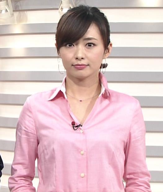 伊藤綾子 ピンクシャツキャプ画像(エロ・アイコラ画像)