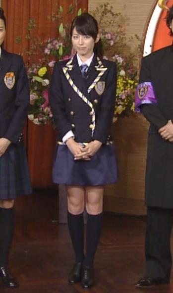 平井理央 セーラー服キャプ画像(エロ・アイコラ画像)