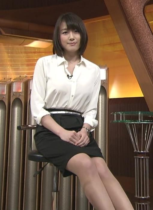 大島由香里 太ももキャプ・エロ画像2