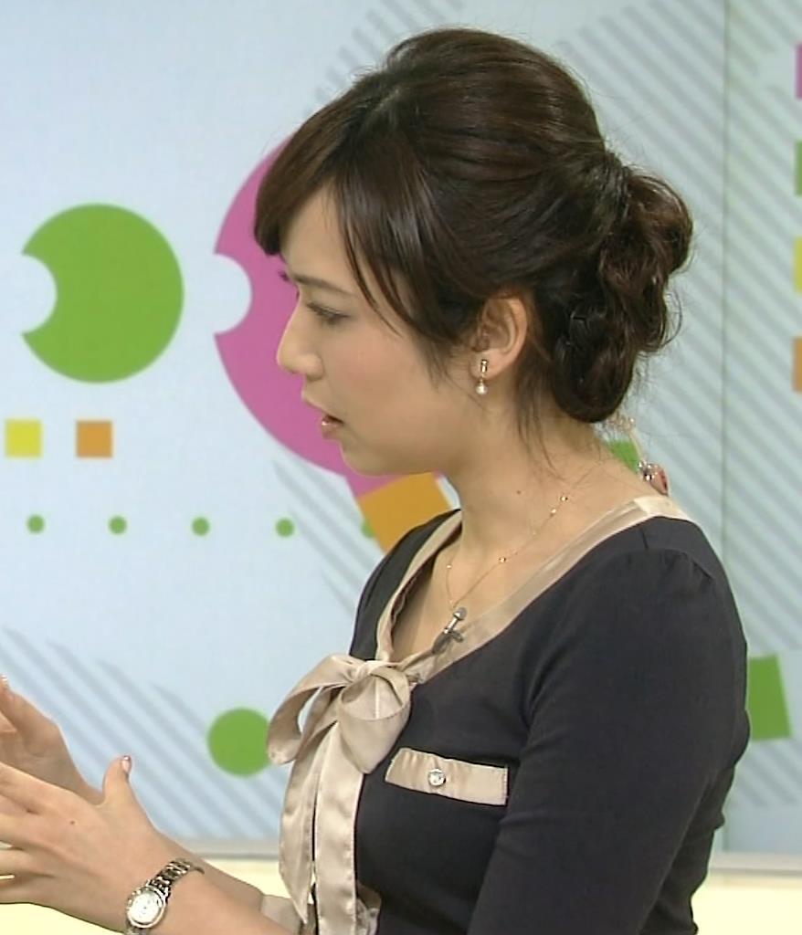 上條倫子 服の隙間キャプ画像(エロ・アイコラ画像)