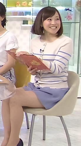 江藤愛 太ももキャプ・エロ画像2