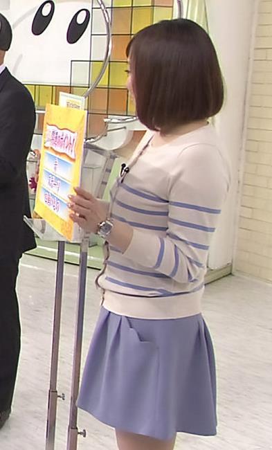 江藤愛 太ももキャプ・エロ画像4
