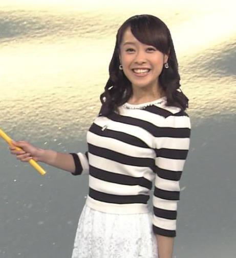 片山千恵子 突き出した横乳キャプ画像(エロ・アイコラ画像)