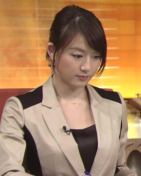 大島由香里  胸元が光ってるキャプ画像(エロ・アイコラ画像)