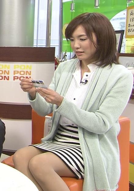 上杉幸恵 ミニスカのデルタゾーンキャプ画像(エロ・アイコラ画像)