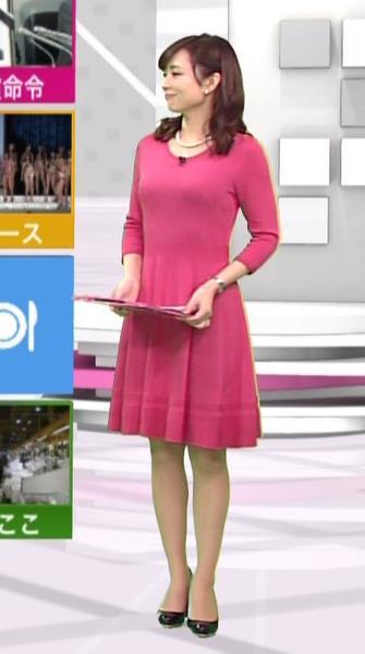 伊藤綾子 すごくタイトな服キャプ画像(エロ・アイコラ画像)