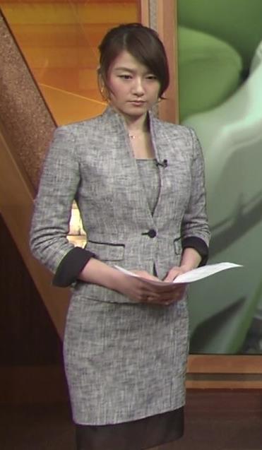 大島由香里 タイトスーツ (ウェストのくびれ)キャプ画像(エロ・アイコラ画像)