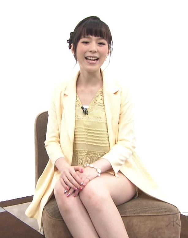 平野綾 太もも生足キャプ画像(エロ・アイコラ画像)