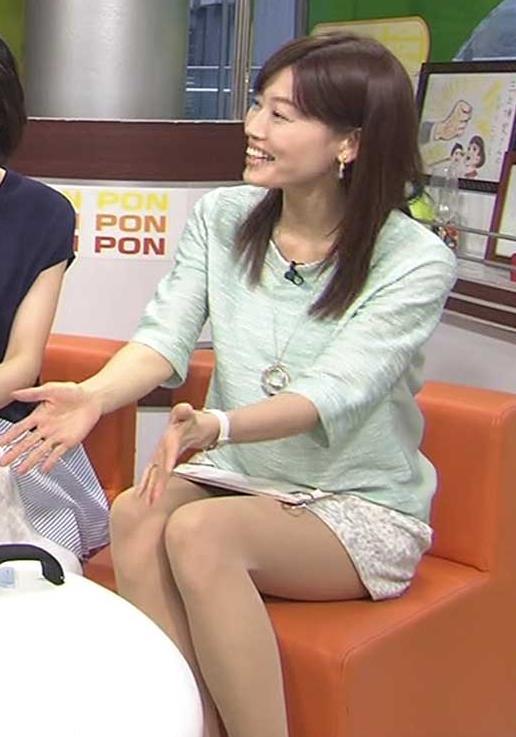 佐藤良子 ミニスカ太もも&▼ゾーン(PON)