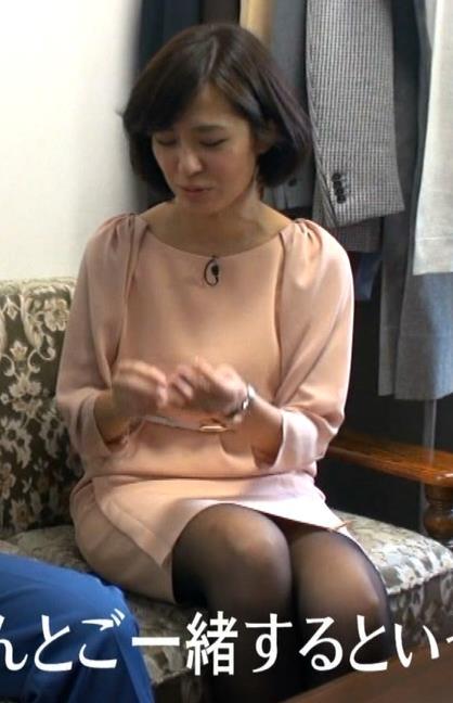 椿原慶子 ミニスカのデルタゾーンキャプ画像(エロ・アイコラ画像)