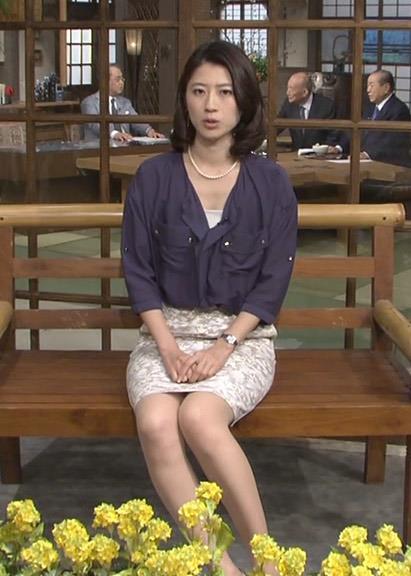 岡村仁美 ミニスカ美脚キャプ画像(エロ・アイコラ画像)
