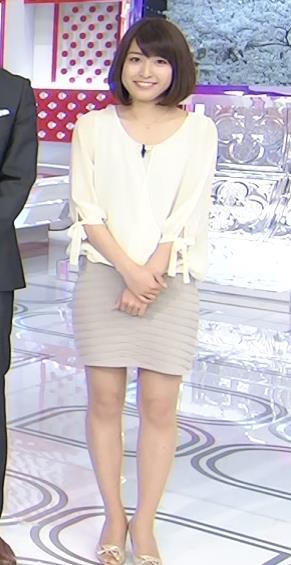 佐藤渚 スカート短すぎ!ミニスカ美脚キャプ画像(エロ・アイコラ画像)