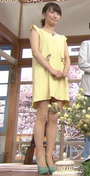 枡田絵理奈 ミニスカを下から見るキャプ画像(エロ・アイコラ画像)