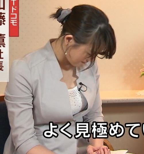 大島由香里 ジャケットの中の巨乳キャプ画像(エロ・アイコラ画像)