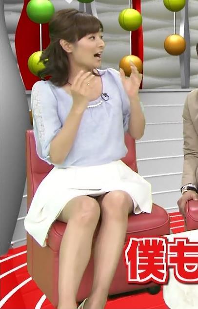 徳島えりか ミニスカで座ってパンチラキャプ画像(エロ・アイコラ画像)