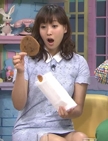 藤本美貴 ミニスカのデルタゾーンキャプ画像(エロ・アイコラ画像)