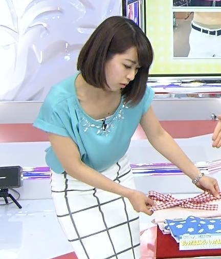 佐藤渚 タイトスカート(あさチャン!)キャプ画像(エロ・アイコラ画像)