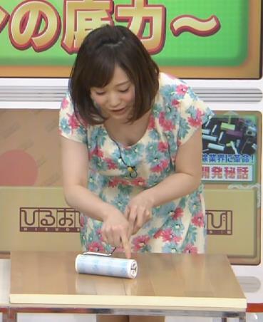 江藤愛 ちょっと胸ちらキャプ画像(エロ・アイコラ画像)