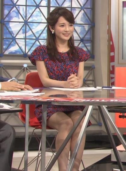 深津瑠美 ミニスカ▼ゾーン(ワールドスポーツMLB 20140531)