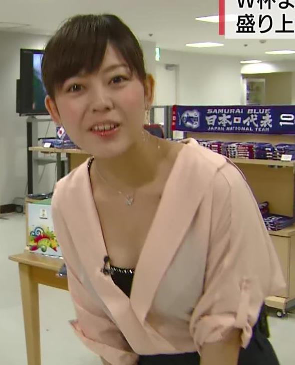 久下真以子 NHKでも結構おっぱいでてますキャプ画像(エロ・アイコラ画像)