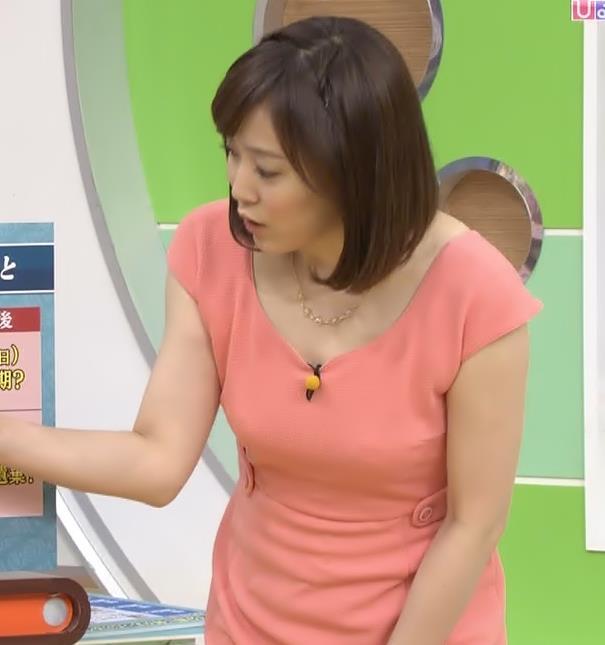 江藤愛 巨乳キャプ画像(エロ・アイコラ画像)