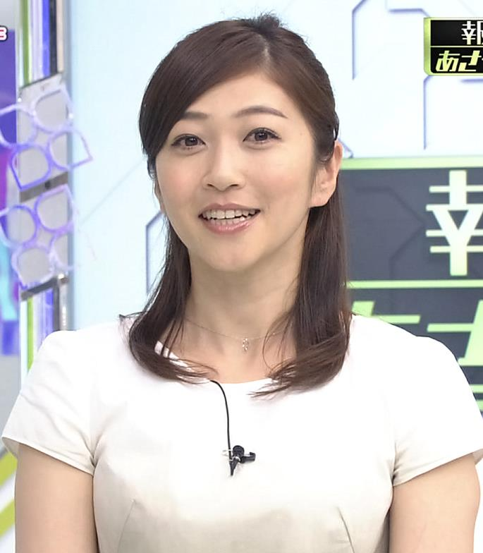 久保田智子 おっぱいアピールキャプ画像(エロ・アイコラ画像)