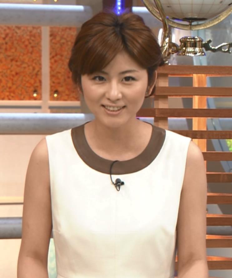 宇賀なつみ ノースリーブキャプ画像(エロ・アイコラ画像)