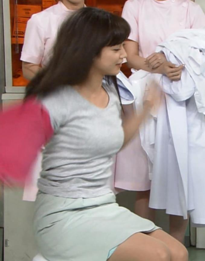 平愛梨 むっちり巨乳の横乳&ブラちらキャプ画像(エロ・アイコラ画像)