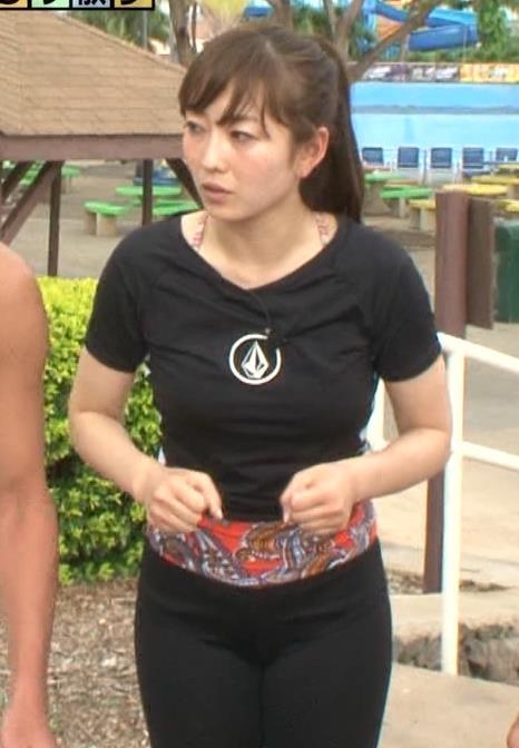 狩野恵里 タイトな服でおっぱいがパッツン状態キャプ画像(エロ・アイコラ画像)